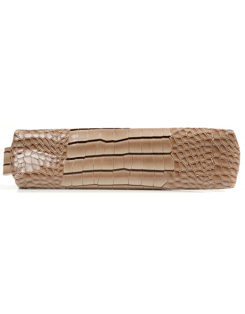 Kalpa Kalpa Bodensee pencase with zip croco taupe