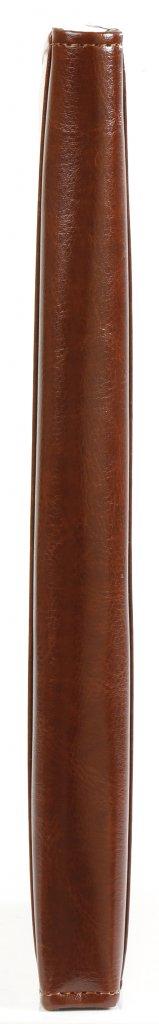 Kalpa  A5 schrijfmap met rits Paro bruin