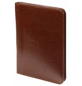 Kalpa 2500-40 A5 writing case with zip paro brown