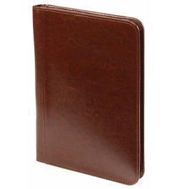 Kalpa 2500-40 A5 Writing case with zip - paro bruin