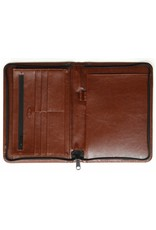 Kalpa A5 Writing case with zip Paro brown