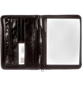 Kalpa A5 Writing case with zip Pullup Black