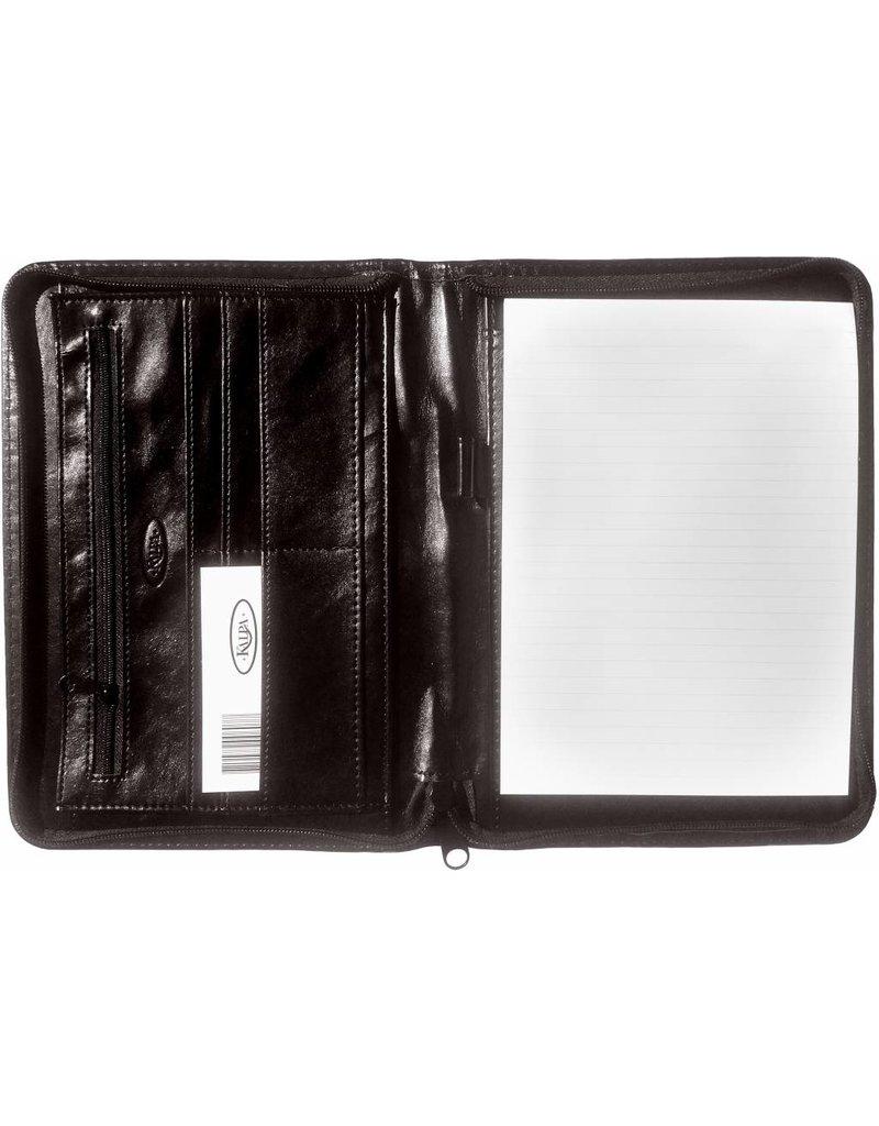 Kalpa 2500-60 Kalpa A5 organiser Alpstein Writing Case Weekly Planner Journal Diary - 25 x 18 cm. - pullup zwart