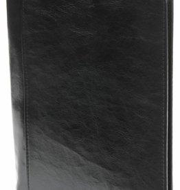 Kalpa 2500-60 A5 schrijfmap met rits pullup zwart