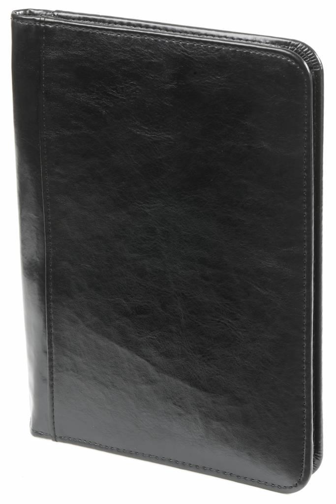 Kalpa A5 schrijfmap met rits pullup zwart