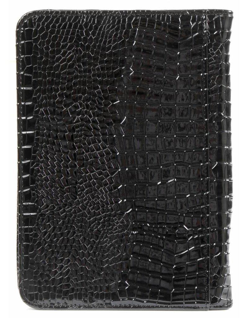 Kalpa 2500-61 Kalpa A5 organiser Alpstein Writing Case Weekly Planner Journal Diary - 25 x 18 cm. - croco zwart