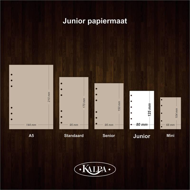 Kalpa Pocket-Junior organiser notitieblok bulletjournal 4 pieces