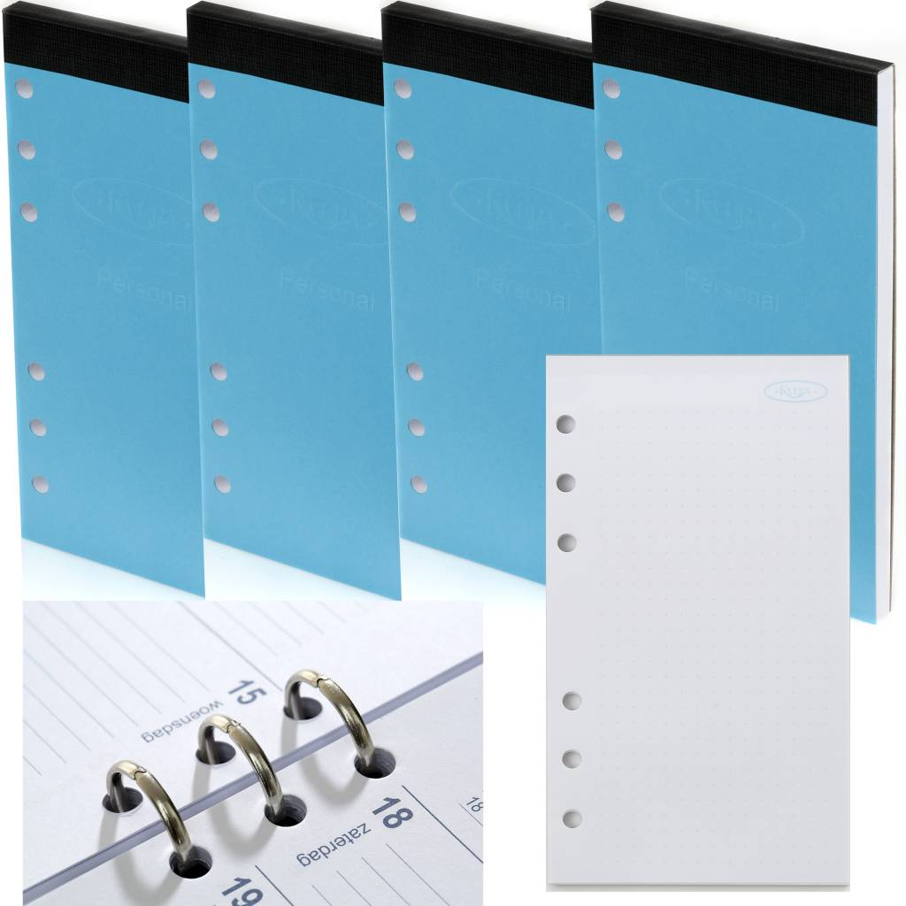 Kalpa Personal organiser notepad bulletjournal 4 pieces