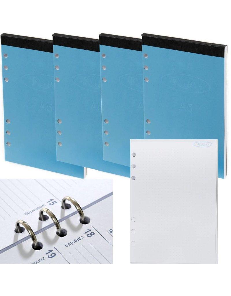 Kalpa A5 notepad - 4 pieces Bullet Journal  for A5 organizer