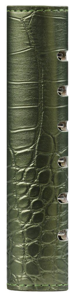 Kalpa 1316-66 Junior - Pocket compact organiser croco groen