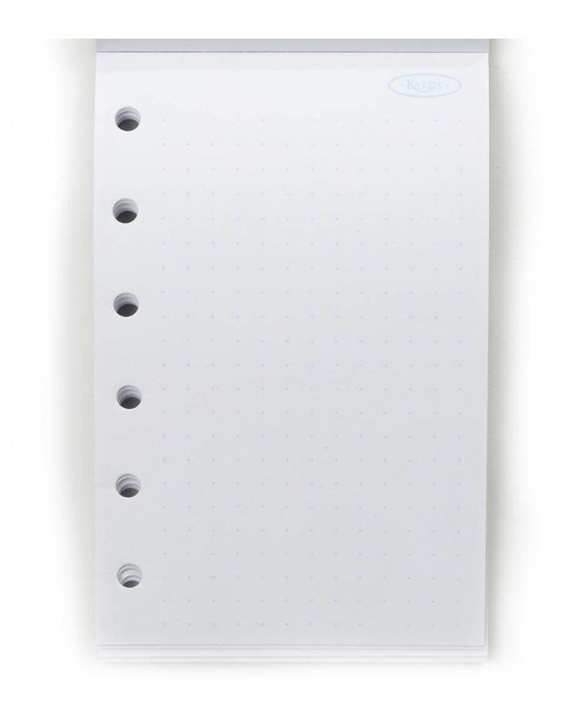 Kalpa 1316-66 Junior - Pocket compacte organizer pullup croco groen