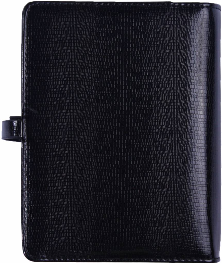 Kalpa 1011-44 Kalpa A5 Organiser Faux Leather With Paper Fillers Weekly Planner, Journal, Diary - Agypa Black