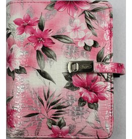 Kalpa 1311-58 Kalpa Junior Pocket Organiser With Paper Fillers, Weekly Planner, Journal, Diary - flower rose