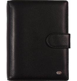 De Rooy 1311-Yd de Rooy Pocket organizer leer - Zwart Soft