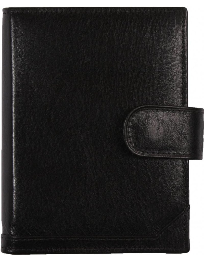De Rooy de Rooy pocket organiser black - leather