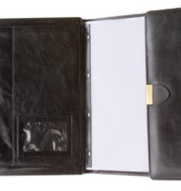 Kalpa 3100-I Kalpa Alpstein writing case with zip Classic Black - leathershowalbum Lausanne Classic black - leer