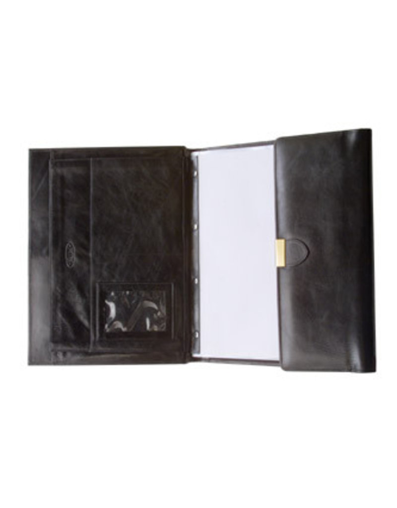 Kalpa Lausanne writing case classic black - leather