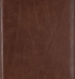 Kalpa 2200-J Zurich schrijfmap Classic bruin - leer