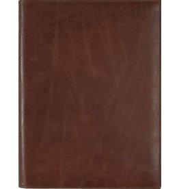 Kalpa 2200-J Zurich writing case Classic brown - leer