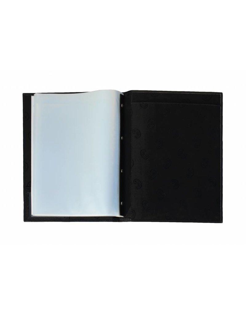 Kalpa Lausanne writing case black - leather