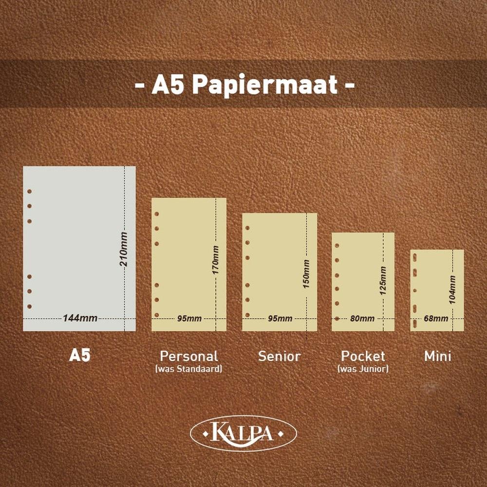 Kalpa Kalpa A5 organizer Agypa Zwart