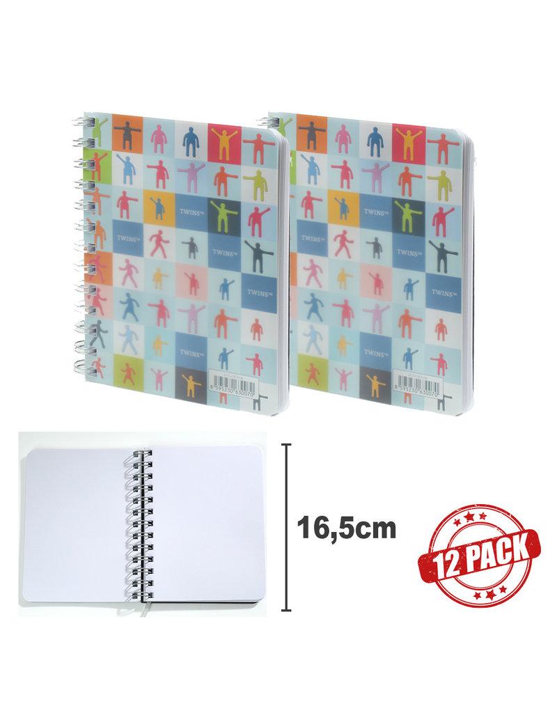 Kalpa 12 x BTMN notitieboek Twins medium
