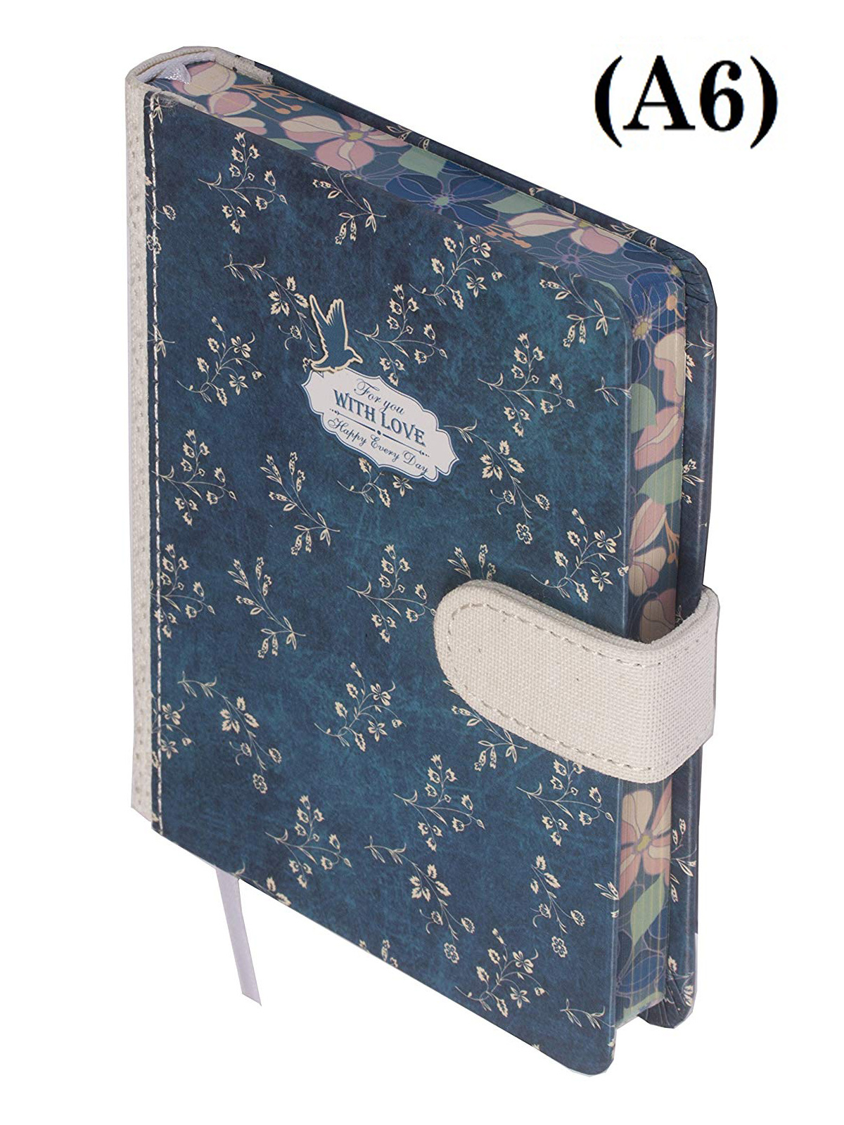 Dreamnotes D1311 Kalpa A6 Dreamnote Notebook Organiser Office Diary Home Planner With Love, 128 Pages - 10.5 x 15 cm - Blue