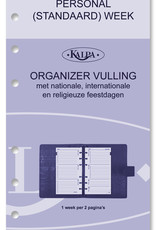 Kalpa Personal (standaard) organiser taupe