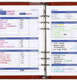 Kalpa 6607-00 losbladige planner