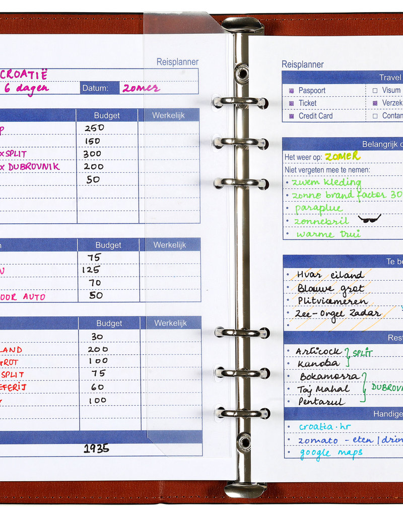 Kalpa A5 losbladige planner