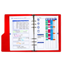 Kalpa 6607-10 A5 losbladige gezondheid tracker