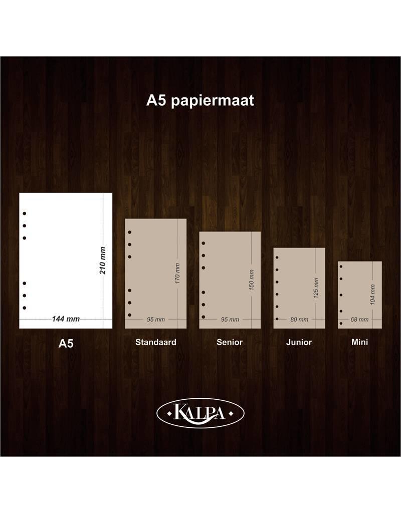 Kalpa A5 organiser notitiepapier  - Bullet Journal 80 vel - 4 sets