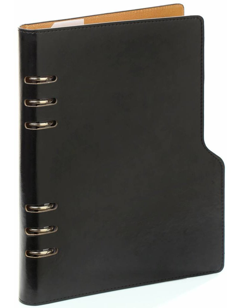 Kalpa Kalpa A5 Compact Organizer Pullup Black with Planner