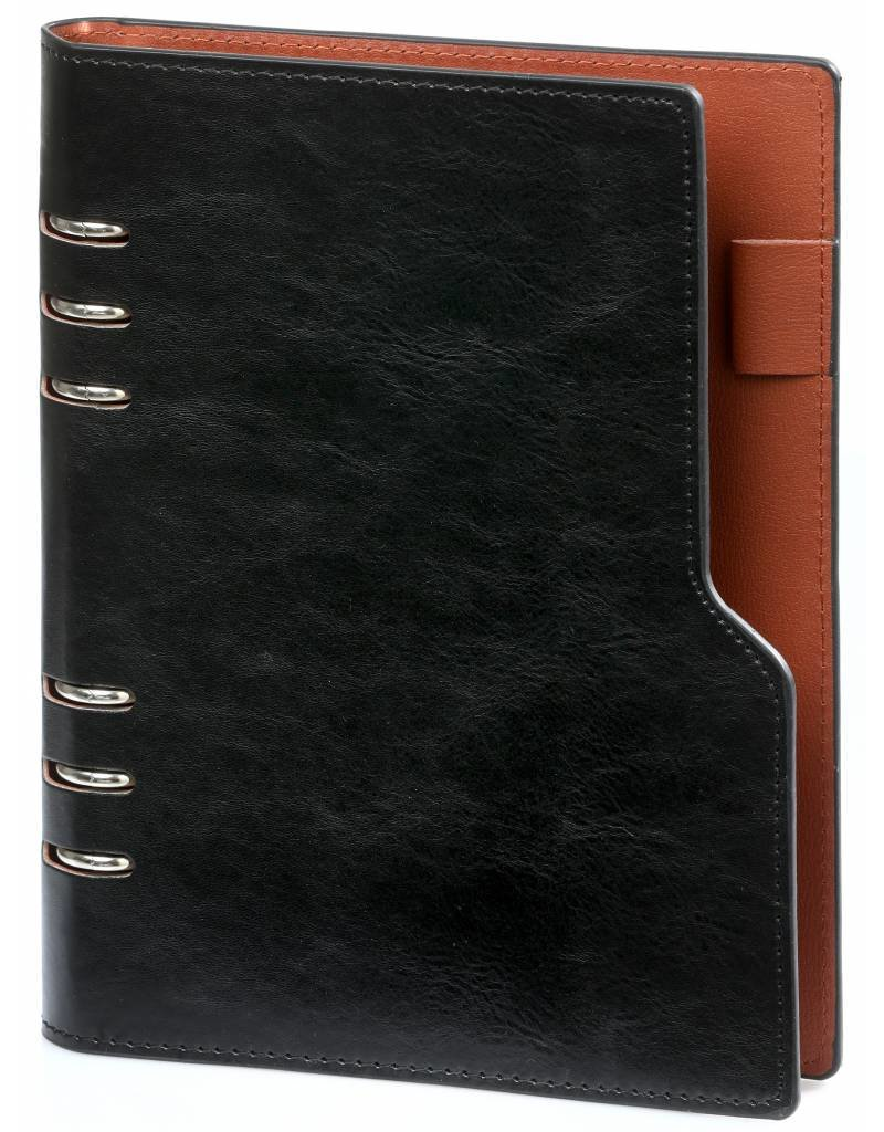 Kalpa Kalpa A5 Compact Organizer Pullup Black with Planner