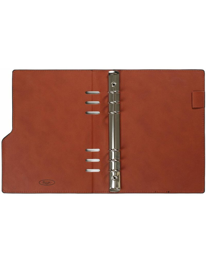 Kalpa Compact A5 organiser Gloss Croco Taupe met Planner