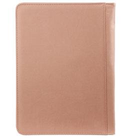Kalpa 2400-72 Kalpa A4  Alpstein Writing Case  -Pastel Pink Green