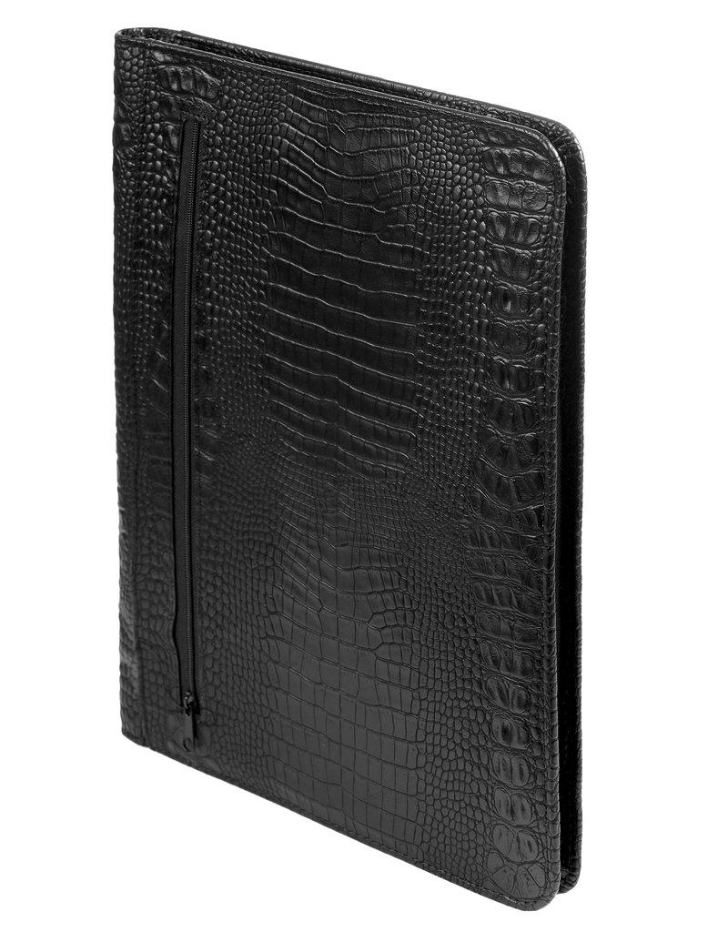 Kalpa Alpstein writing case with zip croco black