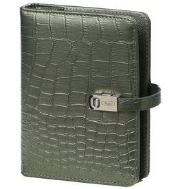 Kalpa 1311-66 Pocket organiser croco green
