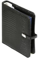 Kalpa A5 organizer croco zwart