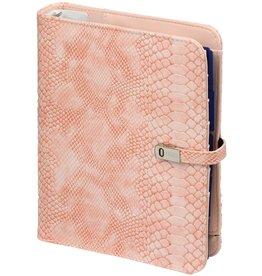 Kalpa 1011-68 A5 organiser croco pink