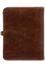 Kalpa A5 organizer croco bruin