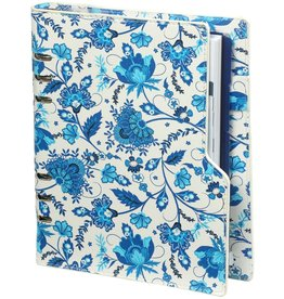 Kalpa 1016-78 Compact A5 organiser compact Delft blue flowers
