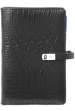 Kalpa Personal (Standaard) organizer croco zwart