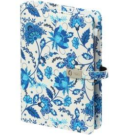 Kalpa 1111-78 Personal (Standaard) organizer bloem Delfts blauw