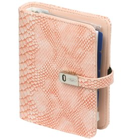 Kalpa 1311-68 Pocket (junior) organizer croco roze