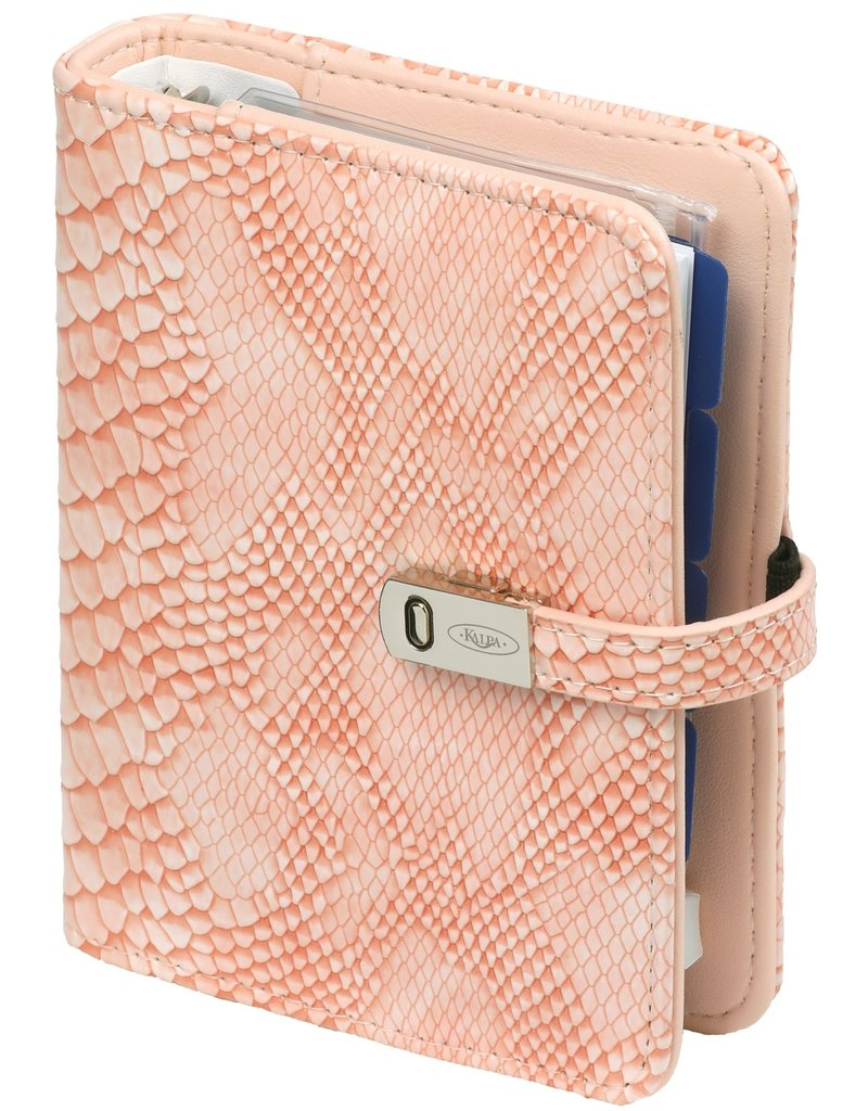 Kalpa Pocket organiser croco rose