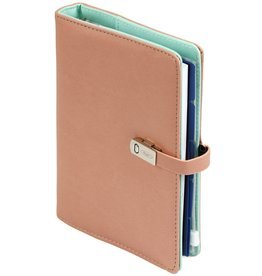 Kalpa 1311-72 Pocket organiser pastel pink and green