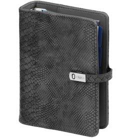 Kalpa 1311-76 Pocket organiser croco grey