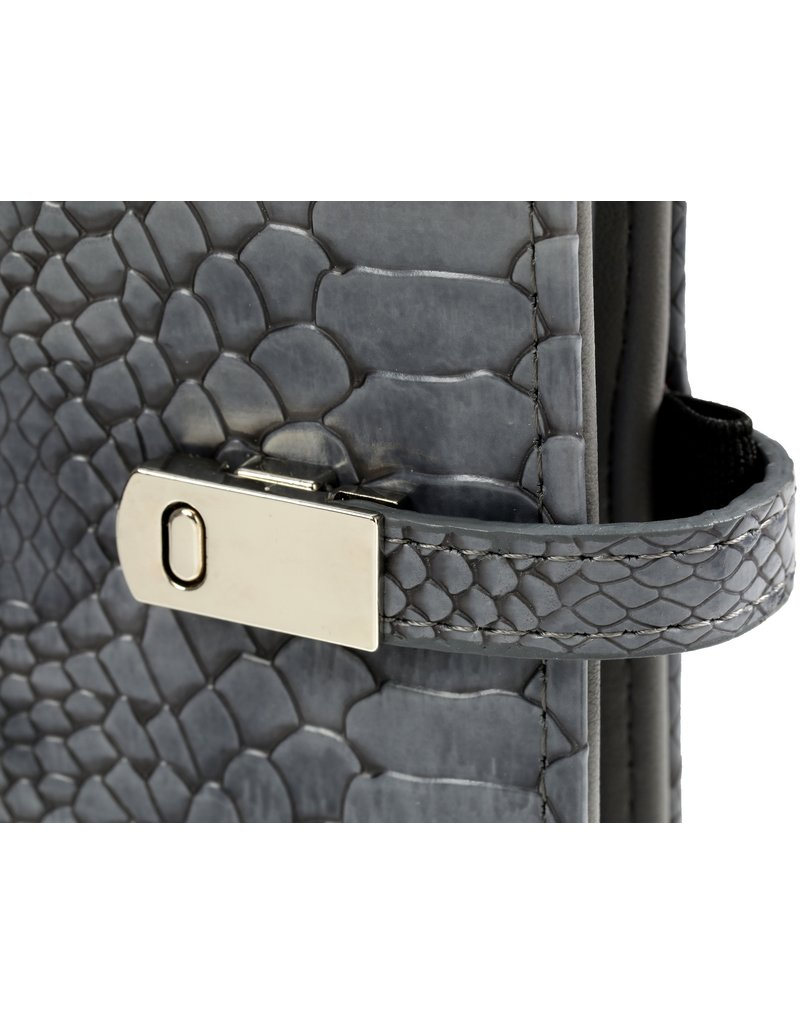 Kalpa Pocket (junior) organizer croco grijs