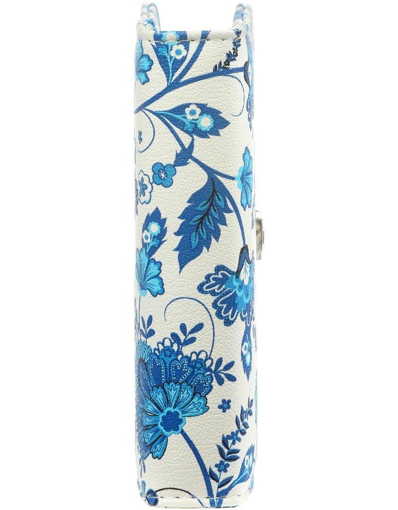 Kalpa Pocket (junior) organizer bloem Delft blauw